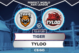 Прогноз на матч TIGER – TYLOO: «драконы» поджарят лапки «тигрятам»